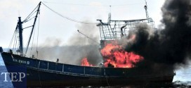 Indonesia Sinks Foreign Boats To Deter Illegal Fishing