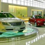 A Lexus showroom