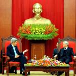 Secretary Kerry Addresses Vietnamese Communist Party Secretary General Trong