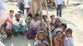 Displaced Rohingya people in Rakhine State, Myanmar.