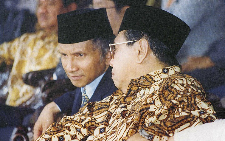 Abdurrahman Wahid (right), popularly known as Gus Dur: a surprising progenitor of Indonesia-Israel relations.