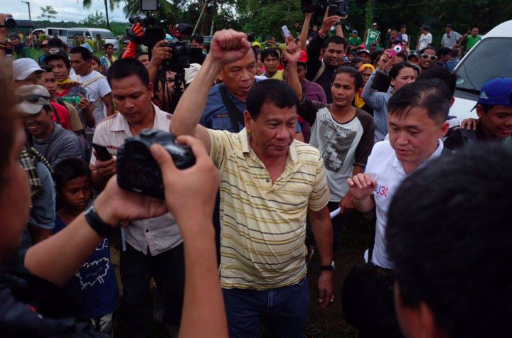 Photo: Facebook page of Rodrigo Duterte