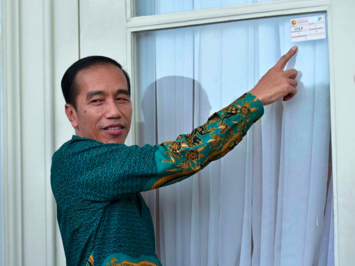 Photo: Joko Widodo official Facebook page